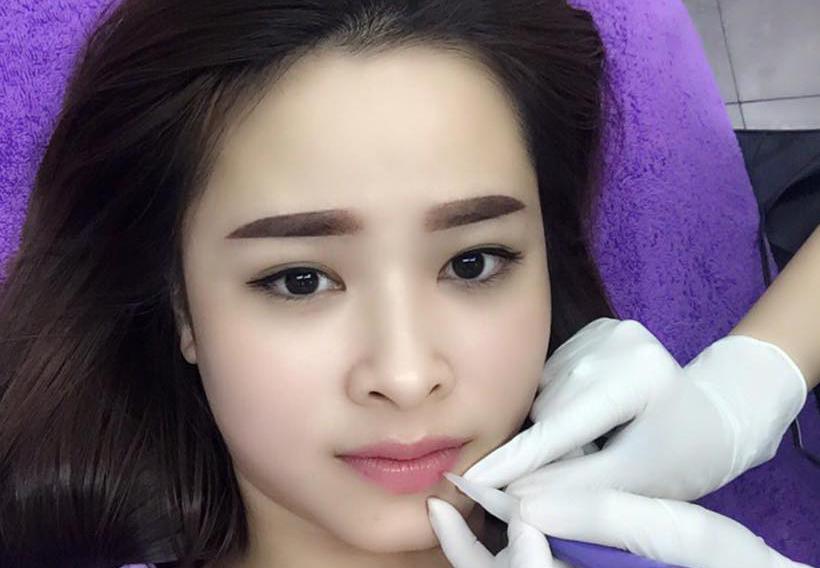 Dịch vụ Phun xăm môi Collagen tại Thanh Quỳnh Spa